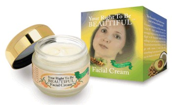 Beautiful on Raw facial cream