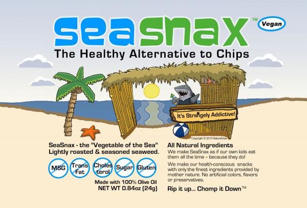 SeaSnax seaweed snacks