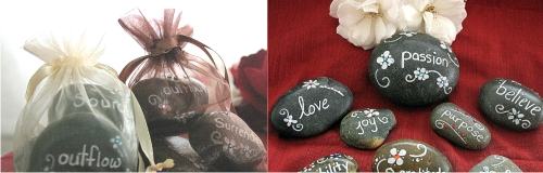 blessing stones and abundance stones from Red Butterflies